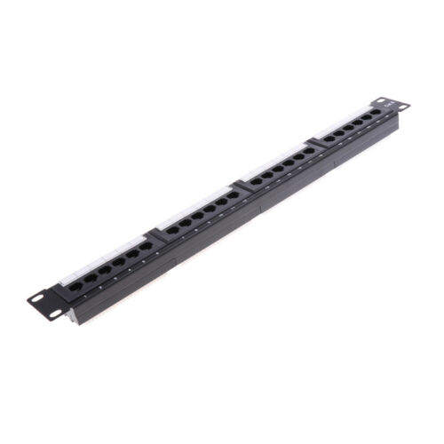 Image 4 - 24Port 19inch Cat6 RJ45 T568A T568B Data Network Rack Mount Patch Panel Frame Good quality-in Networking Tools from Computer & Office