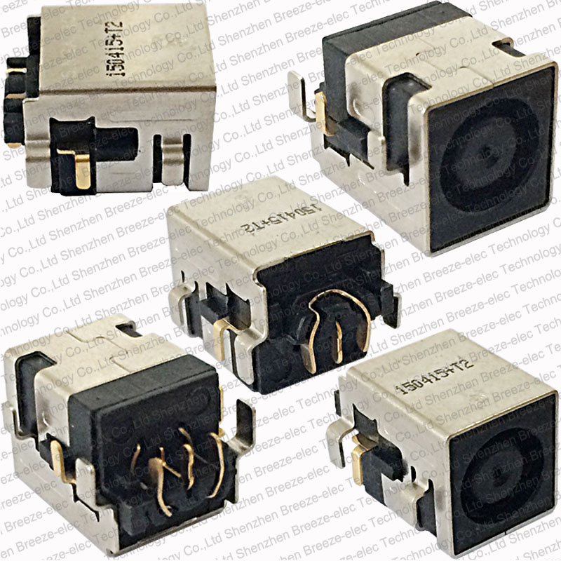 3pcs/lot original Laptop DC Power Jack connector for HP Compaq 6730S NX7300 NX8420 8510P for Dell Latitude E5410 free shipping original ps0s0dbx0 connector