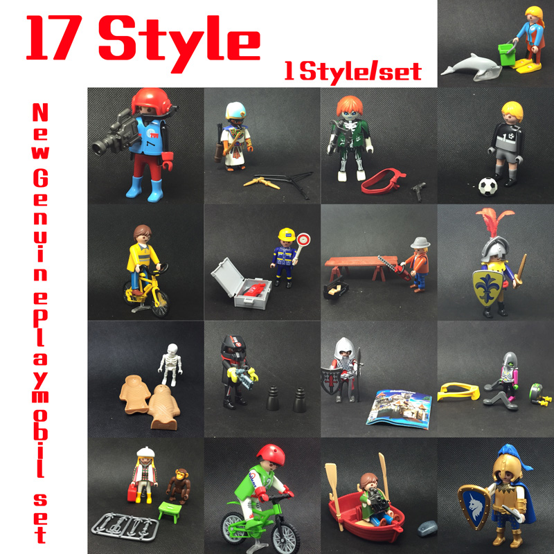 17 Style 7.5cm Germany Genuine Playmobil Dolls Accessory My Secret Princess Castle Action Figure mini Bricks Toy Gift