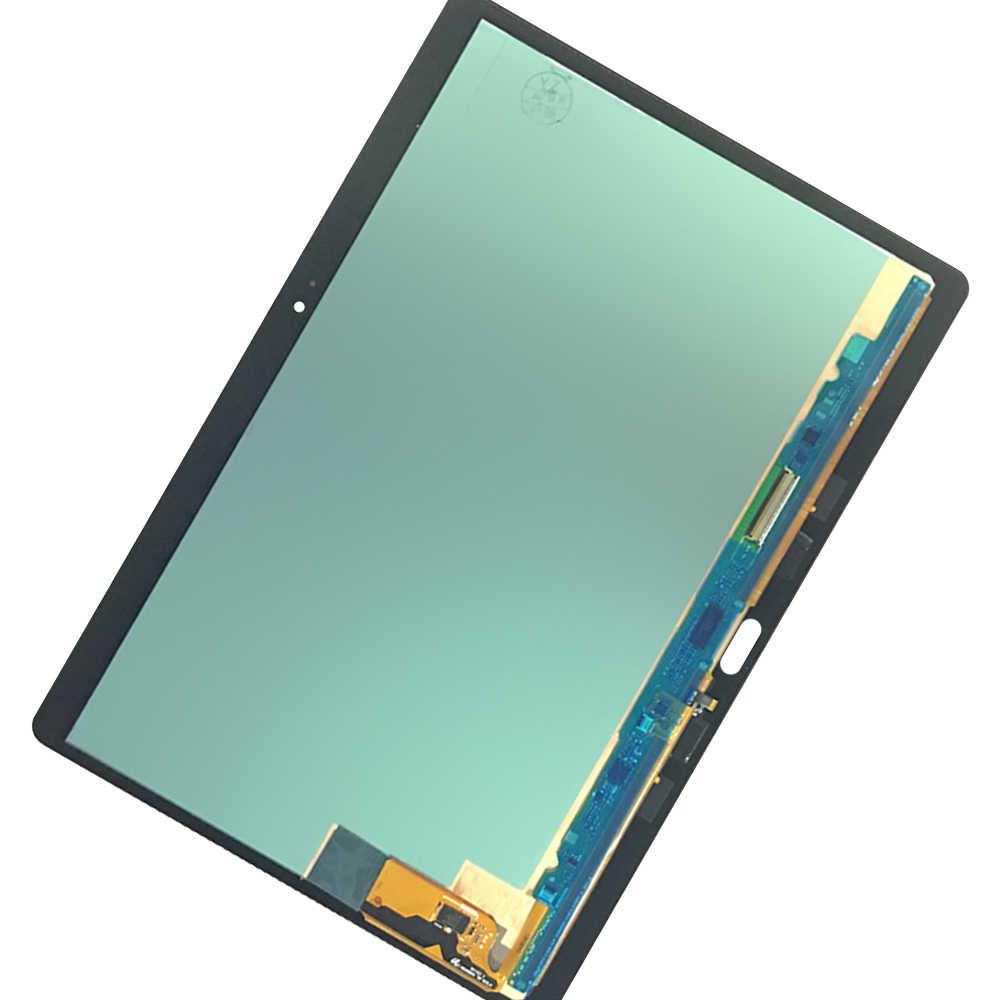 Nowy 100% LCD Tab S T800 T805 SM-T800 wyświetlacz ekran dotykowy Digitizer czujniki Panel montażowy wymiana dla Samsung Galaxy T805
