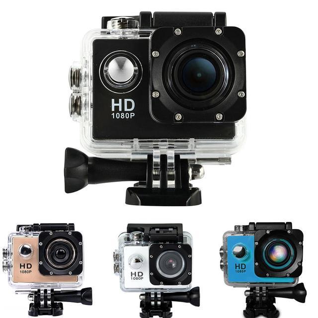 Camera Màn Hình LCD 2.0 inch Chống Thấm Nước 4 K HD 1080 P Chuyển Động Camera Dành Cho Thể Thao Đầu Ghi Hình Cho HAMTOD HKJ400 Cho Hành Động