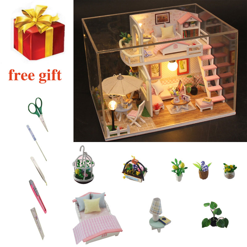 1:12 Wooden Family People Dolls House Toys DollsHouse People Characters #6