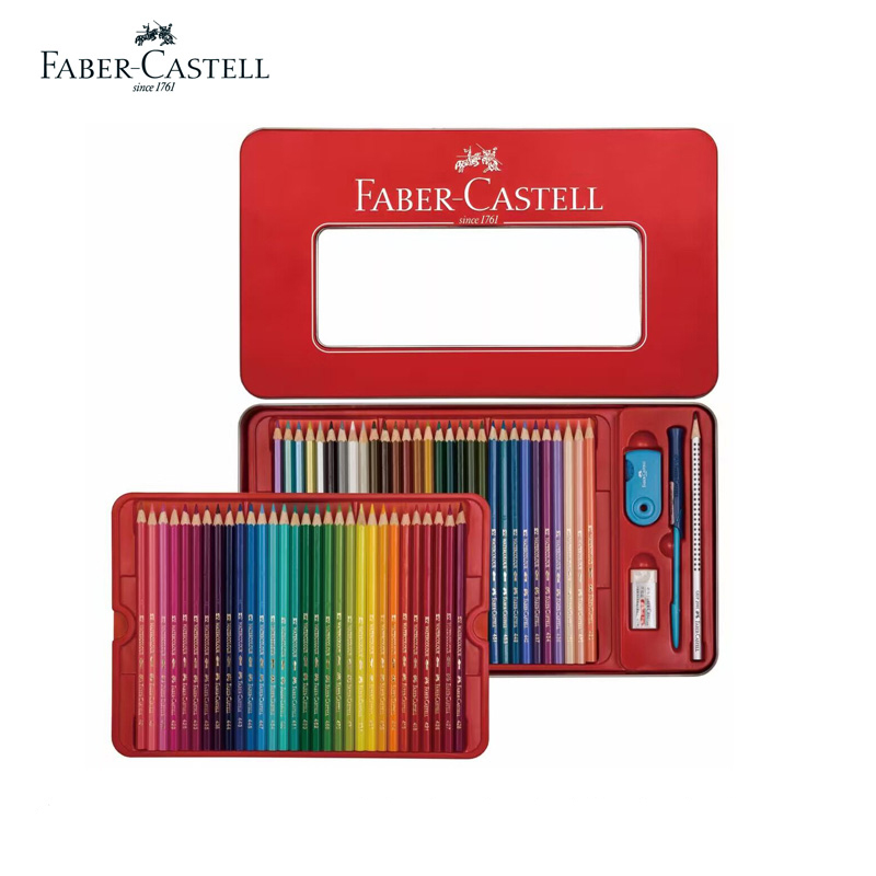 FABER-CASTELL Luxury Set ofWater-Soluble Colored Pencils 1