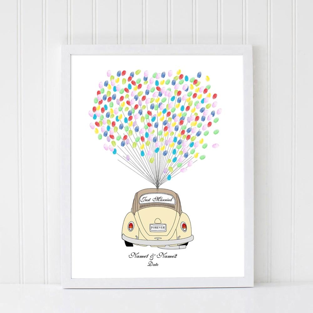 Hochzeit Auto Hochzeitsgeschenk Freier Kundenspezifischer Name