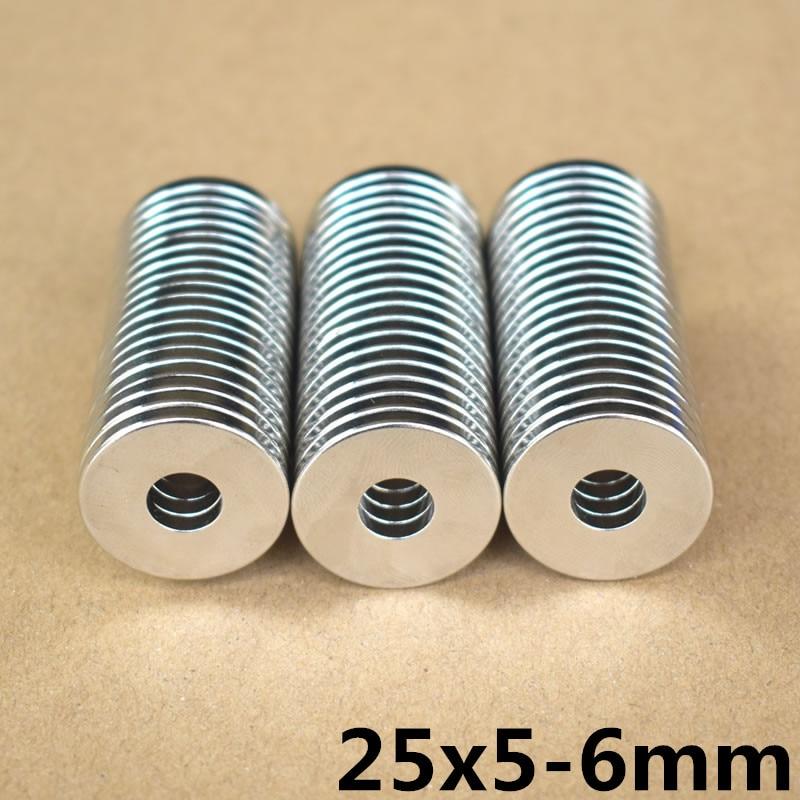 5//6/'/' x 1//8/'/' Round  Ring Magnets Rare Earth Neodymium N50 20mm x 3mm Hole 12mm