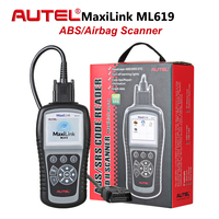 Autel MaxiLink ML619 OBD2 Car Code Reader ABS SRS Scanner Airbag Diagnostic Tool Automotive Scan Tools OBD 2 DIY Fault Code Read