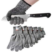 Hot Super Tools HPPE Cut Resistant Gloves Level 5 Protection High Performance Mu