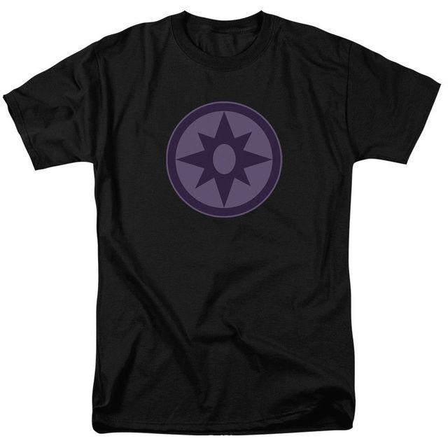 Green Lantern Star Sapphire Violet Symbol Licensed Adult T Shirt In