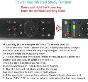 Image 4 - Голосовой пульт дистанционного управления G20S, беспроводная аэромышь 2,4 ГГц, микрофон, гироскоп, ИК обучение для Android tv box T9 H96 Max X96 mini