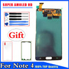 Super AMOLED HD For Samsung Galaxy Note 4 Note4 N910A N910F LCD Display Touch Screen Digitizer