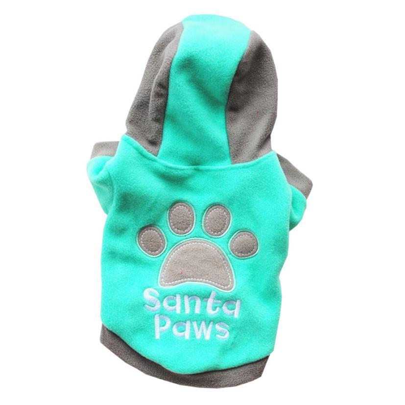 Agasalhos para cães Inverno Casuais Jaqueta Roupas Para Cães Animais de Estimação Roupa Do Cão Casaco Quente 4 Cores XS S M L XL frete Grátis