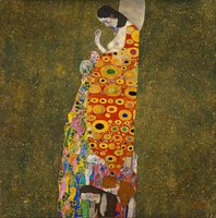Gustav Klimt paintings Reproduction Hope oil on canvas Hand painted beautiful woman artwork for wall decor High quality