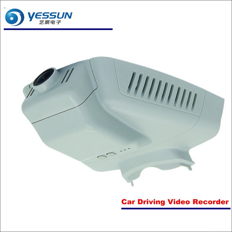 YESSUN For Mercedes Benz GLK200 250 2015~2017 Car DVR Driving Video Recorder Front Camera Black Box Dash Cam - Head Up Plug