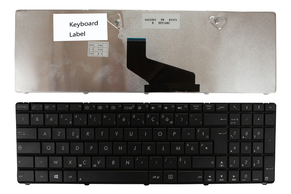 все цены на New notebook Laptop keyboard for   Asus PK130TT3A14 Black Windows 8 French Layout онлайн