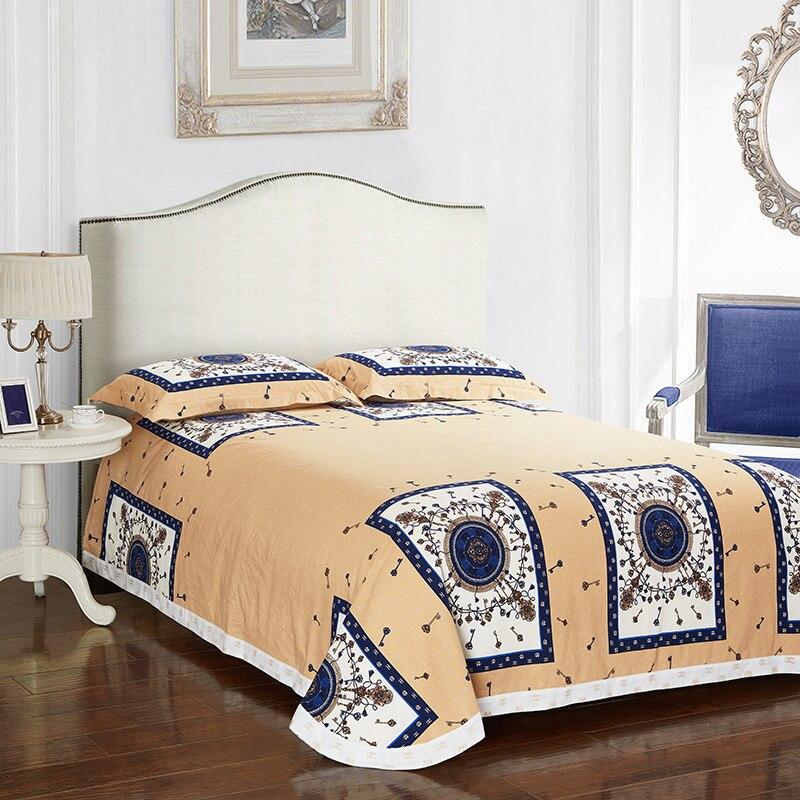 Keys Print Duvet Cover Set Bedlinens High Quality Thick Sanding Cotton Queen King Size Bedding Sheets Power Source Home Textile