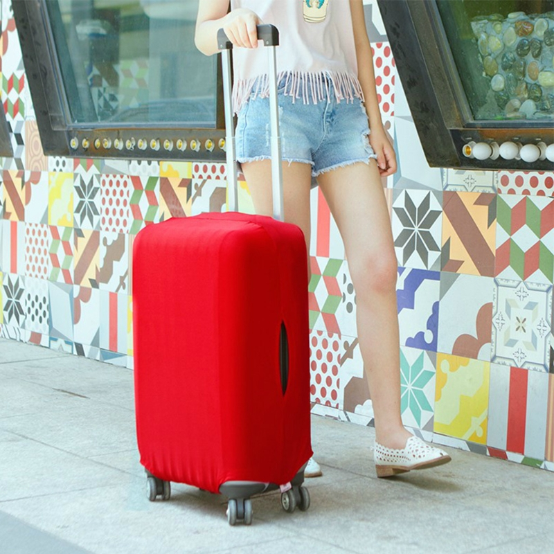 Luggage Dust Cover Practical Elastic Luggage Suitcase Cover Protective Bag Protector Dustproof Fashion New S/M/L