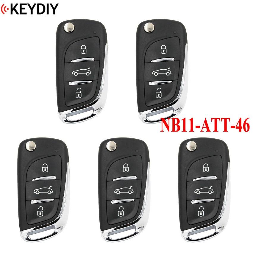 5pcs lot KEYDIY Universal Remote Key for KD900 KD900 URG200 KD X2 Key Programmer NB Series