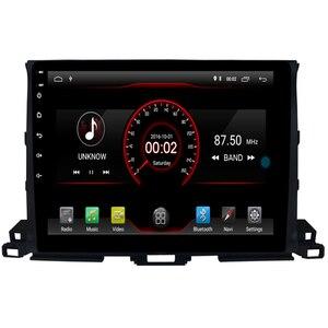 2G RAM 16 ROM 1024*600 четырехъядерный Android 9,1 автомобильный DVD GPS Радио для Toyota HIGHLANDER 2014 2015 2016 2017 2018 головное устройство музыка