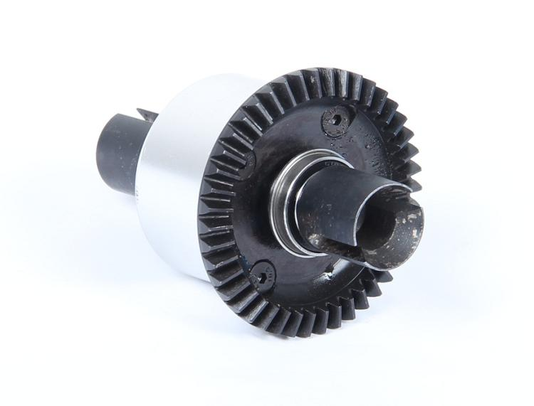 Rovan lt cnc metal Rear differential assembly black  1 set