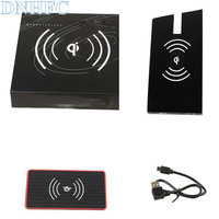 DNHFC Special on board QI wireless phone charging panel For Volkswagen Tiguan 2018 Car Accessories