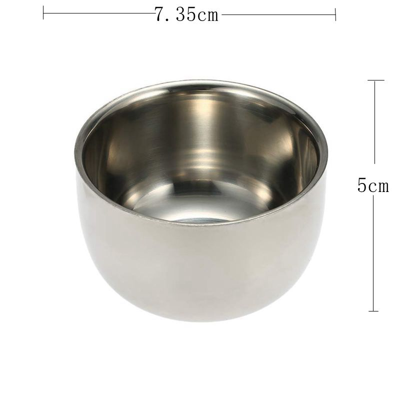 Shaving Bowl Of Double Layer Perfect For Shaving Brush Wet Shave Safety Razor Double Edge Razor