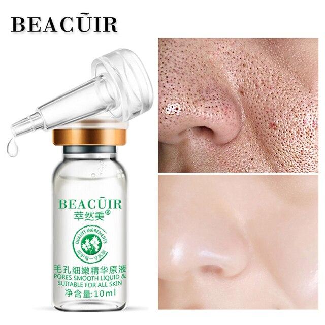 BEACUIR Yüz Serum Hyaluronik Asit Gözenekleri Küçültmek Özü sıvı Nemlendirici Beyazlatma Yüz Bakımı Anti-Aging Kırışıklık Karşıtı Aydınlatmak