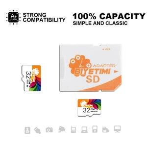Image 4 - Biyetimi זיכרון כרטיס מיקרו SD כרטיס 8g 16g 32g 64g מיני tf כרטיס class 10 אמיתי קיבולת פלאש כרטיס עבור Smartphone