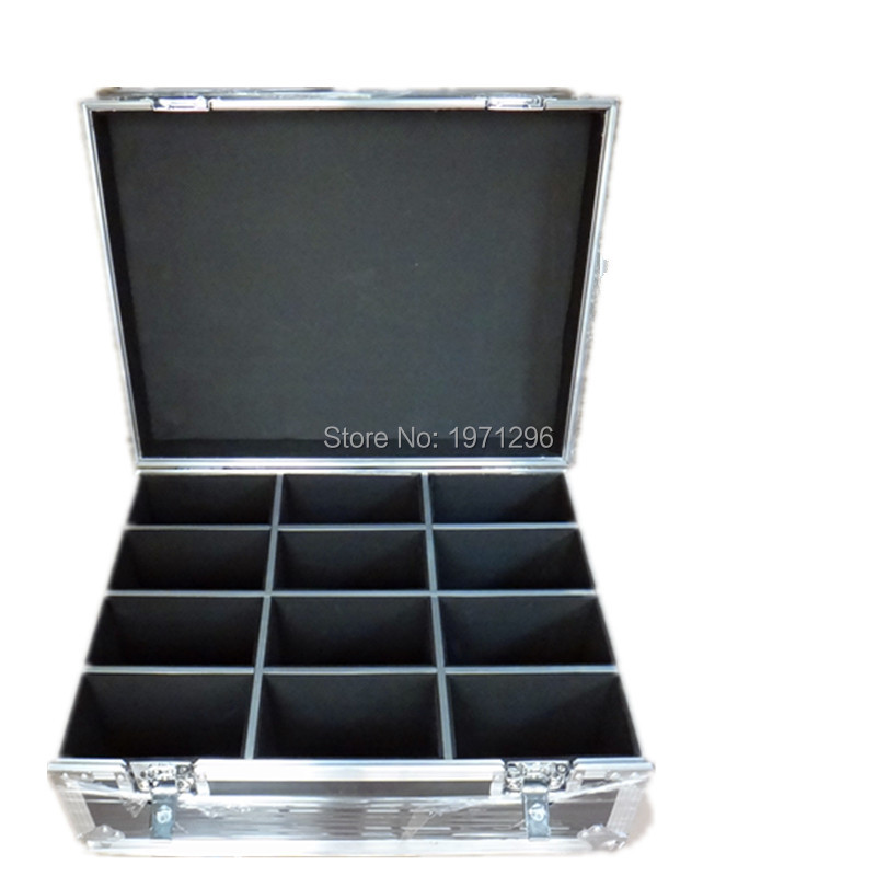 Free Fast Shipping High Quality Flight Case Flight Package For 12pcs LED PAR Light