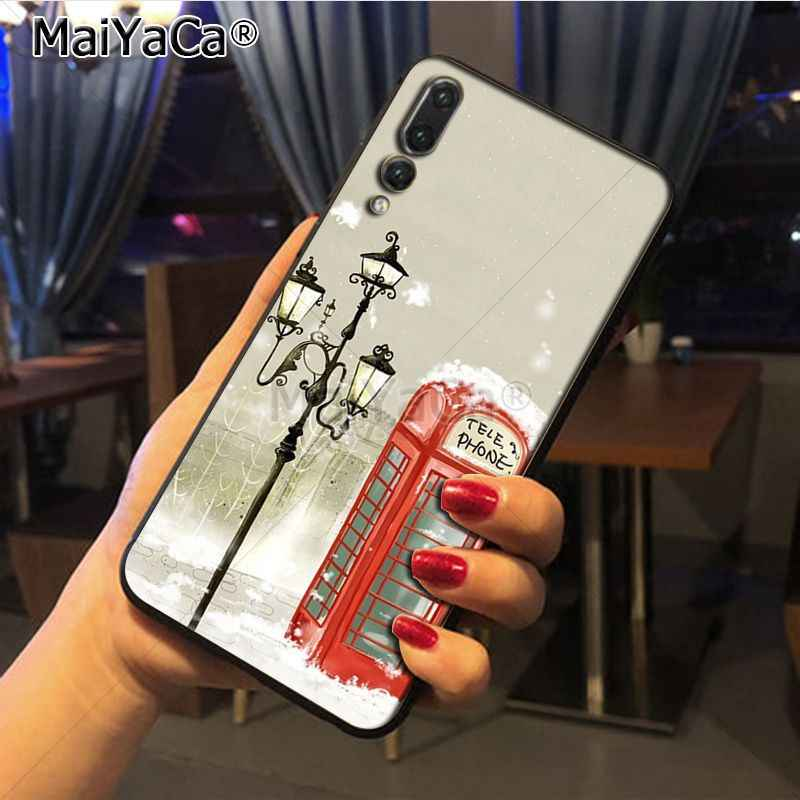Maiyaca london bus england telephone vintage british Special Offer phone case for Huawei P20 P20 pro Mate10 P10 Plus Honor9 cass