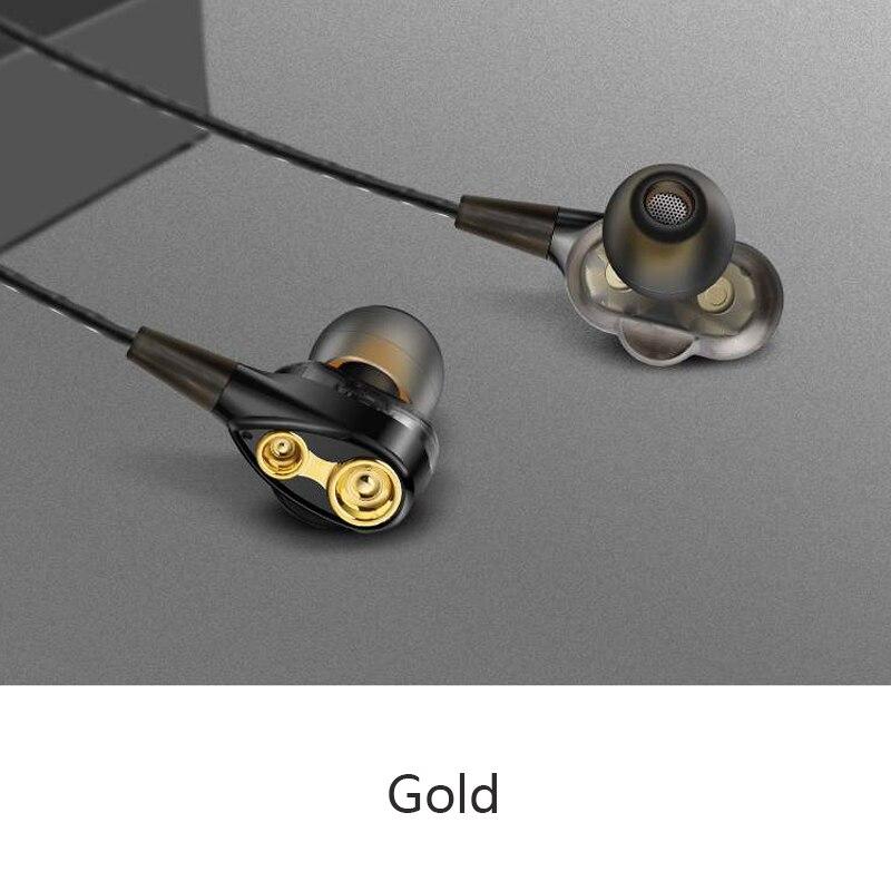 3.5mm Filaire écouteurs Haute basse stéréo dynamique In-Ear écouteurs avec microphone Ordinateur écouteurs Pour téléphone portable fone de ouvido - 6