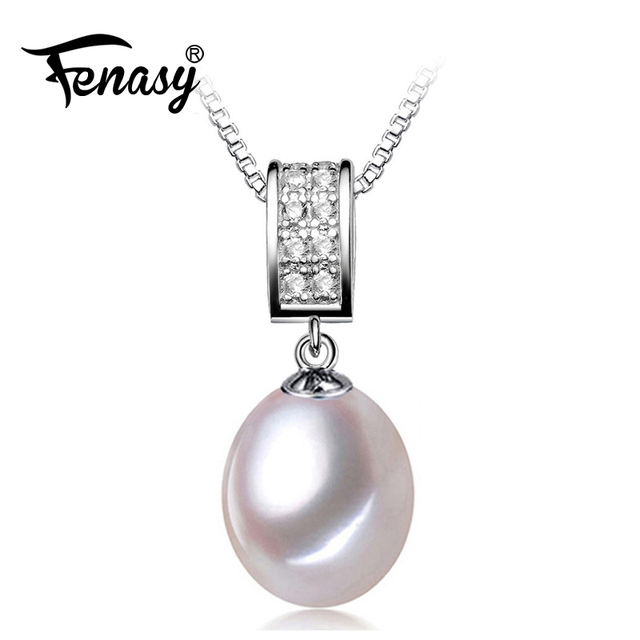Fenasy vintage pearl necklace pink pearl fashion design natural fenasy vintage pearl necklace pink pearl fashion design natural pearl jewelry pearl necklaces pendants aloadofball Gallery