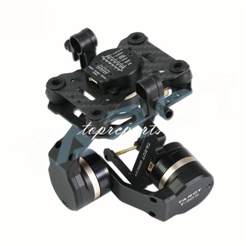 Tarot TL3T01 3 Aixs cardan sans brosse pour bricolage RC Drone caméra Gopro HERO3 HERO4 Sport caméra photographie aérienne FPV - 4