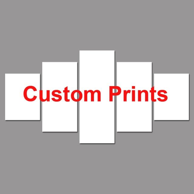 Drop Shipping Mesure Imprime La Peinture Sur Mesure Cadre Photo
