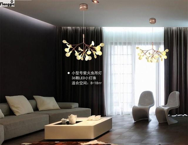 Moderne Design Lampen : Moderne led kroonluchter licht art deco lustre tak lamp pendientes