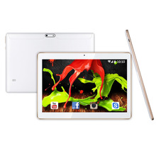 10 Pulgadas Quad Core Android 5.1 ROM 16 GB 1280 * 800pxl 2.0MP Dual SIM Phablet y cuero libre