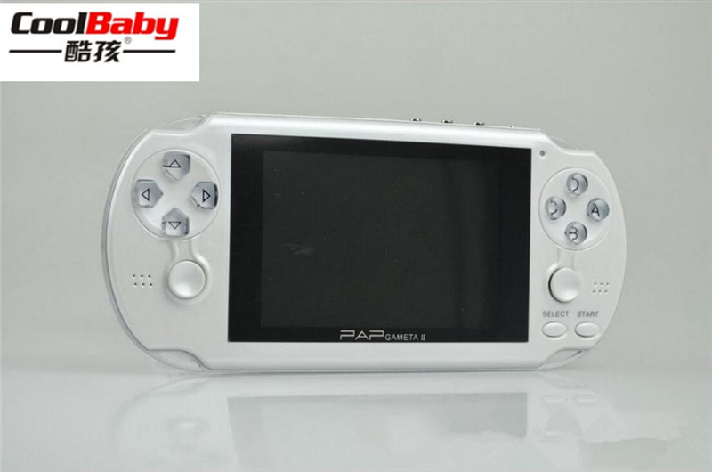 2018 new 16GB PAP II plus 4.3 Handheld Game Player 64Bit PAP Gameta PMP PSP Built In 3000 MP4 MP5 Video Game Consoles