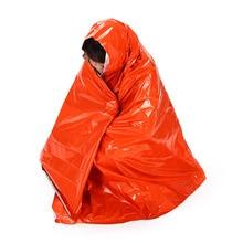 210*130 см уплотненное одеяло для экстренной помощи для альпинизма, наборы для выживания на открытом воздухе, спасательное оборудование, инструмент для выживания в чрезвычайных ситуациях, для охоты