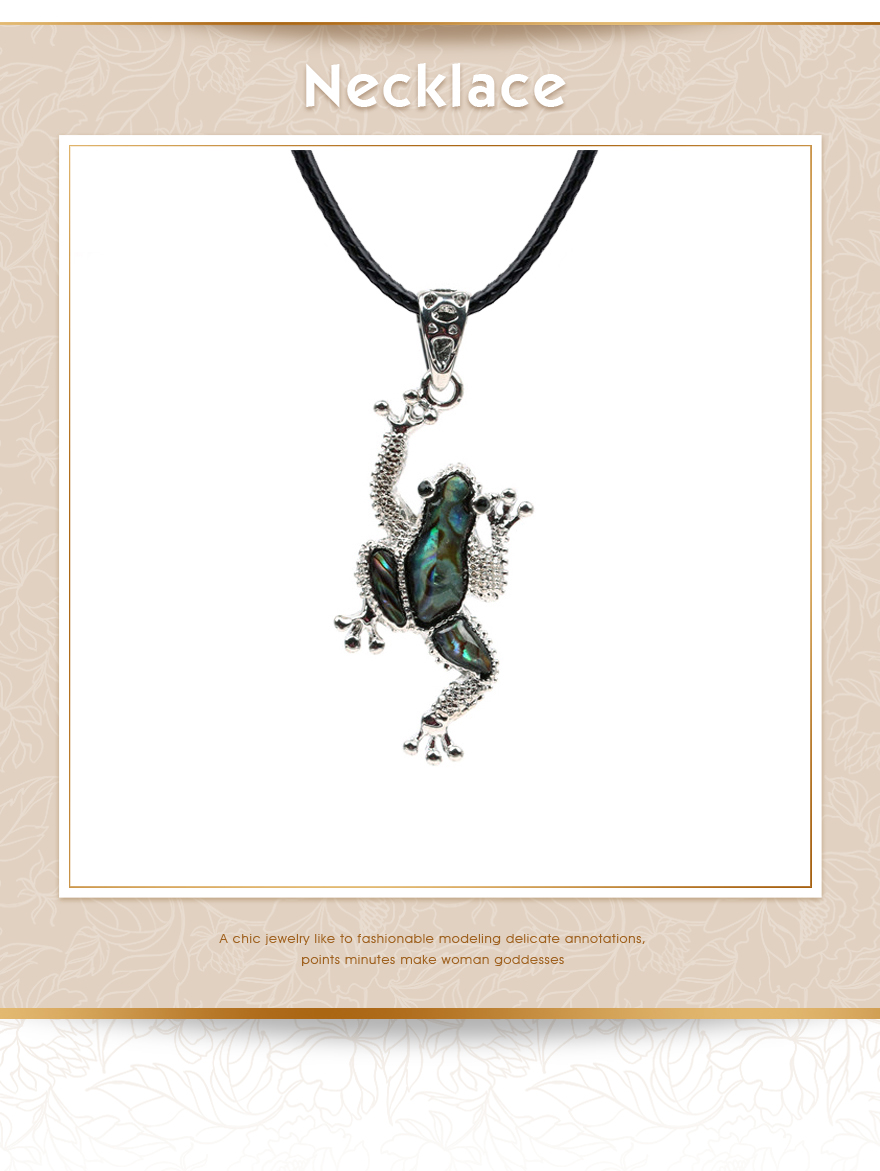 Frog Pendants Necklace (1)