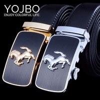 Men Cowskin Leather Luxury Belt Brand Designer Belts Men High Quality Alloy Buckle Belts 43in 59in