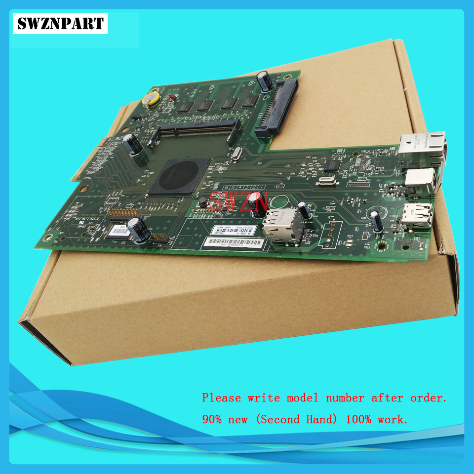 FORMATTER PCA ASSY Formatter Board logic Main Board MainBoard mother board for HP 3530 3525 CC452-60001 CC519-67921 CE859-60001 1pcs lot ce941 60001 ce94160001 printer formatter main mother main board for hp laser jet lj m551dn m551 dn m551 genuine
