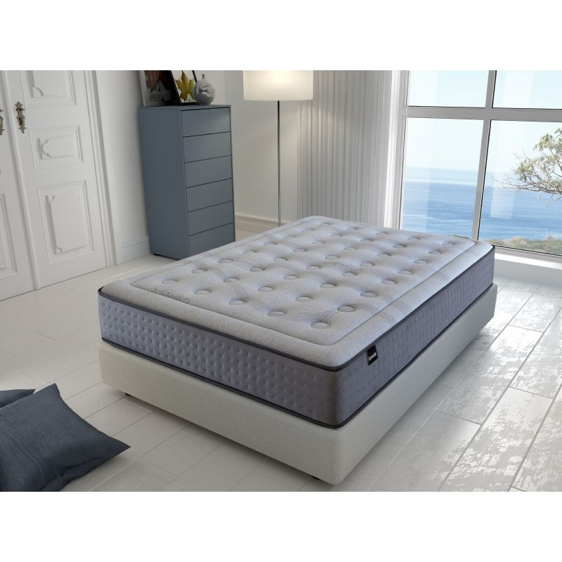 Tanuk Mattress Viscografeno Platinum With springs made Ensacados Bed 100/120/135/140