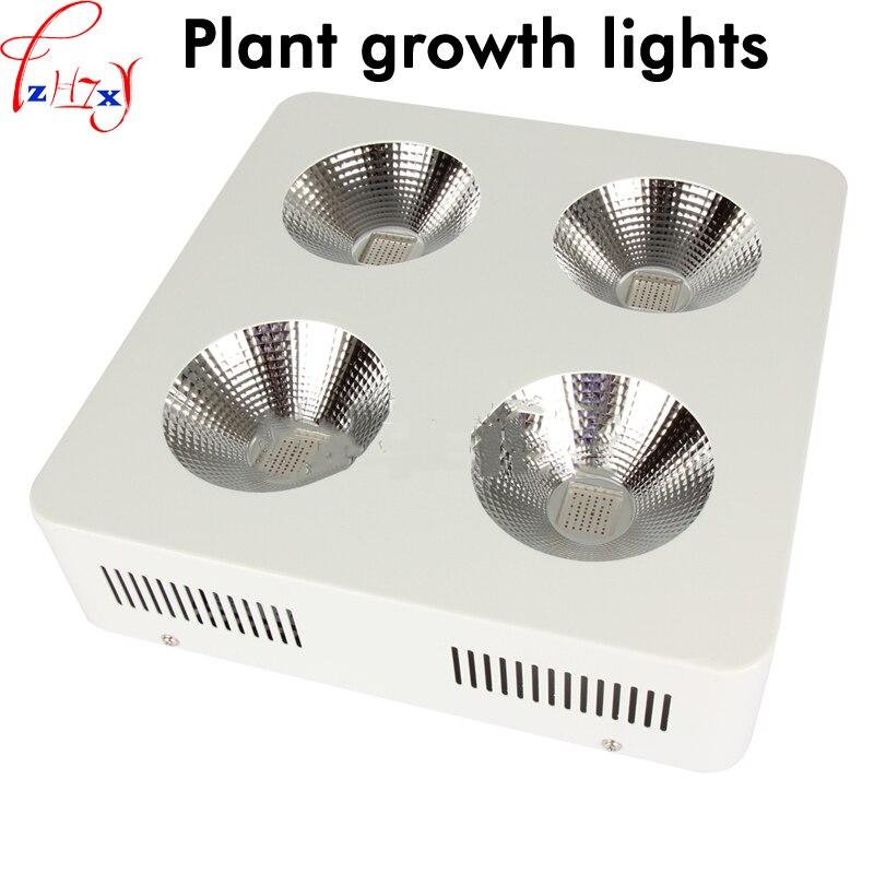 Светодиодные фонари роста растений 2/4/6 отверстий удара завод Fill полный ассортимент посадки огни с ИК, УФ-85 ~ 265 В 1 шт.
