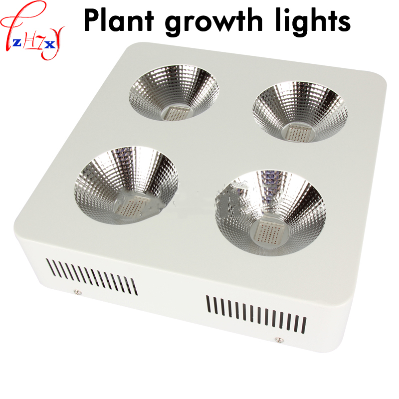 LED plant growth lights 2/4/6 holes COB plant fill full spectrum of planting lights with IR, UV 85~265V 1PC