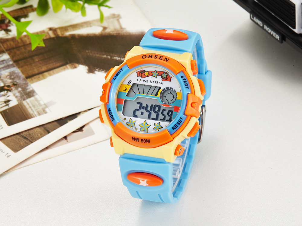 Hot OHSEN Children Watch Boys Life Waterproof Digital LED Sports Watch Kids Alarm Date Casual Watch Gift Hombre Reloj Deportivo (24)