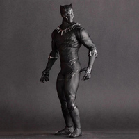 Action Figure Avengers Black Panther 1/6 Scale Collectible Model 30cm Figures toys PVC Panther kids gift