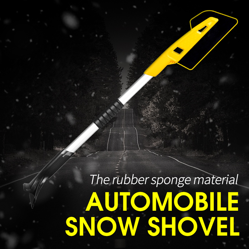 SHEATE Multi Purpose Car Snow Brush Ice Scraper Windshield Cleaner Winter Shovel Removal Tool EVA Soft