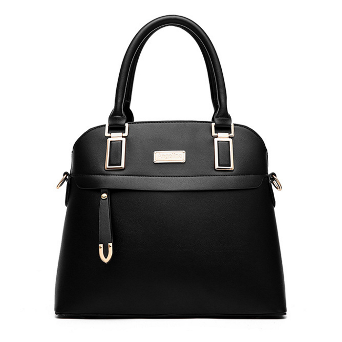 New Female Bag Sweet Lady Fashion Solid font b Handbag b font Shoulder Messenger Bag Stylish
