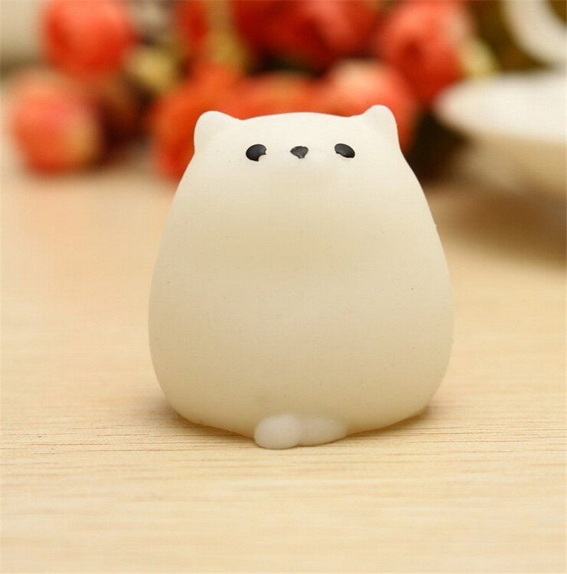 Frugal 1 Pcs Strap Squeeze Stretchy Cute Pendant Kids Toy Gift Cat Slow Rising Kawaii Mini Mochi Bunny Bag Accessories Luggage & Bags