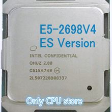 E5-2698V4 Intel Xeon 20-Core QHUZ/QHZD Cpu Processor Es-Version 50M Original