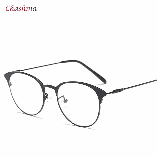 9acebf6aad30 Chashma Brand Designer Vintage Frame Women and Men Retro Stylish Eyewear  Frames Round Glasses Fashion Students Eyeglasses